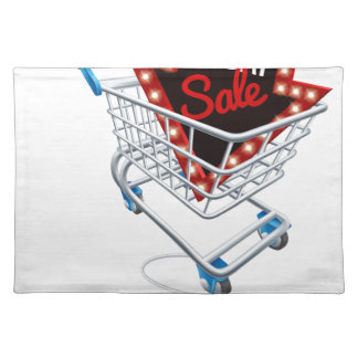 Black Friday Sale Online Trolley Computer Mouse Placemat