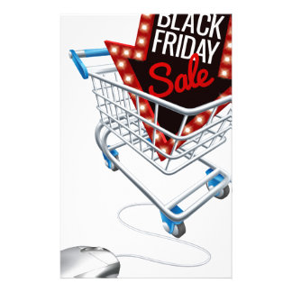 Black Friday Sale Online Trolley Computer Mouse Stationery