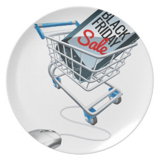 Black Friday Sale Phone Trolley Mouse Sign Plate