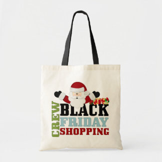 Black Friday Shopping Crew Tote Bag
