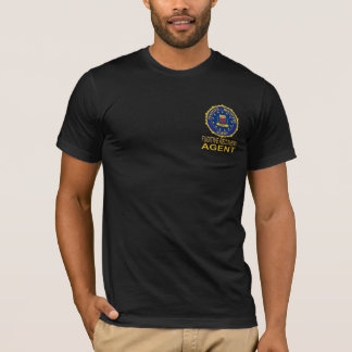 Black FUGITIVE RECOVERY AGENT Tshirt