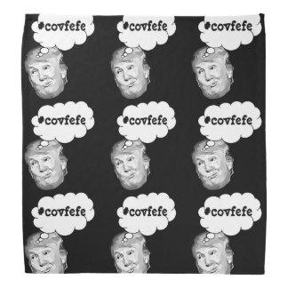 Black Funny Donald Trump #covfefe Bandanna