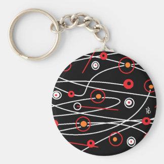 black galaxy keychain