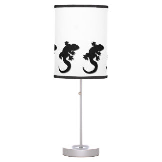 Black Gecko Table Lamp