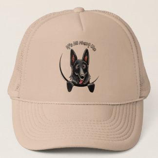 Black German Shepherd IAAM Trucker Hat