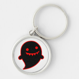 Black Ghost Keychain