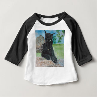 Black Giant Schnauzer Baby T-Shirt