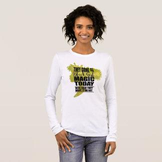 Black Girl Magic Affirmation Long Sleeve T-Shirt
