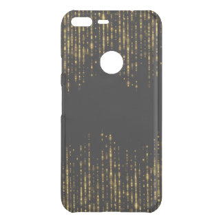 Black & Glam Gold Glitter Design GR4 Uncommon Google Pixel XL Case