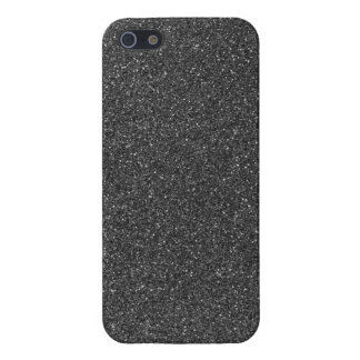 Black Glitter iPhone 5/5S Cover