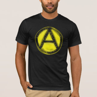 Black & Gold Anarchy Tee
