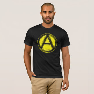 Black & Gold Anarchy Tee
