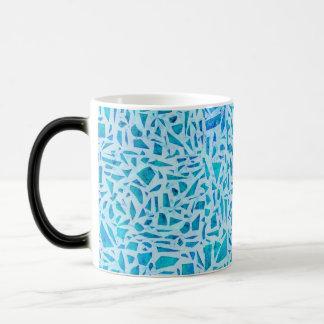 Black & Gold Bow Leopard Cheetah Animal Print Magic Mug