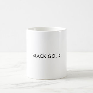 Black Gold Coffee Mug