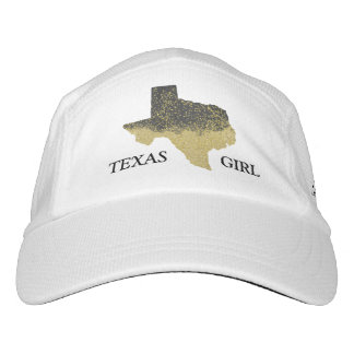 Black Gold Confetti Texas Girl Hat