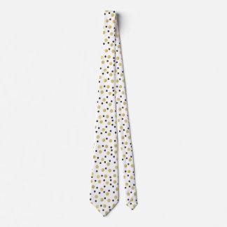 Black Gold Confetti Tie