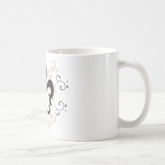black_gold Fleur Coffee Mug