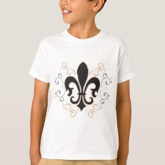 black_gold Fleur T-Shirt
