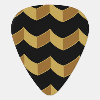 Black Gold Guitar Pick