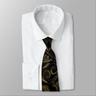 Black Gold Men's Tie