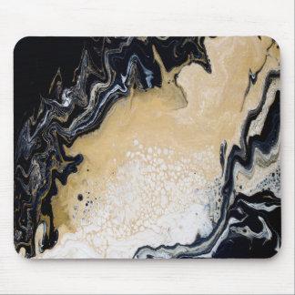 Black Gold Mouse Pad