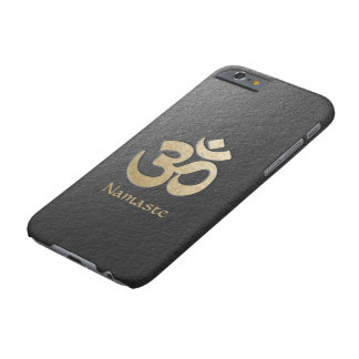Black & Gold OM Symbol Yoga Mediation Instructor Barely There iPhone 6 Case