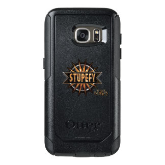 Black & Gold Stupefy Spell Graphic OtterBox Samsung Galaxy S7 Case