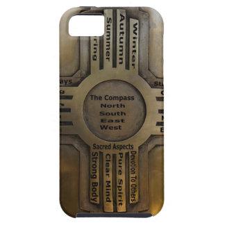 BLACK GOLD ZIA.jpg iPhone 5 Case