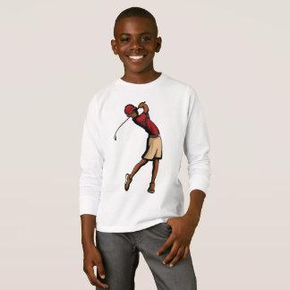 Black Golfer Boy T-Shirt