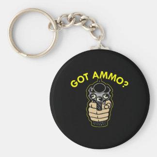 Black Got Ammo Pistol Key Chain