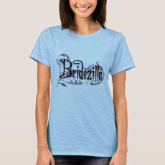 Black Gothic Bridezilla T-Shirt