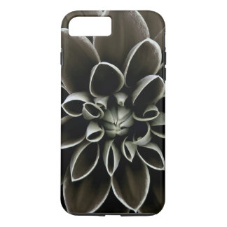 Black Gothic Dahlia Flower Floral Elegant Nature iPhone 7 Plus Case