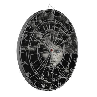Black Gothic Dartboard