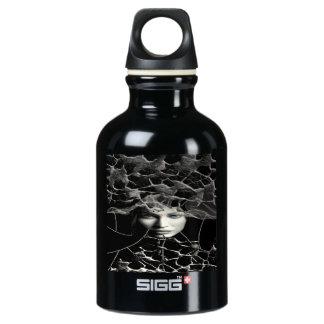 Black Gothic Water Bottle