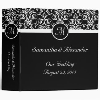 Black Grand Insignia Monogram Binders
