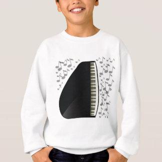 black grand piano sweatshirt
