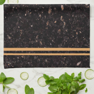 Black Granite Kitchen Towel