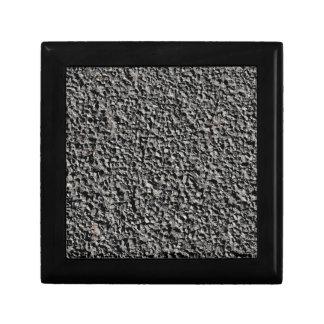 BLACK GRAVEL JEWELRY BOXES