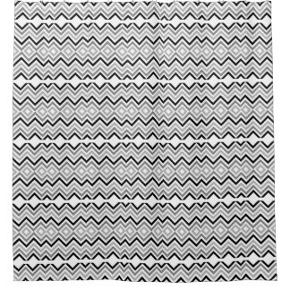 Black   Gray And White Chevron Pattern