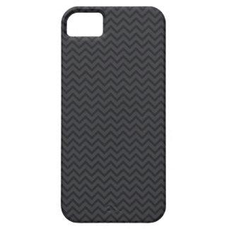 Black gray chevron zigzag zig zag stripes pattern iPhone 5 cases
