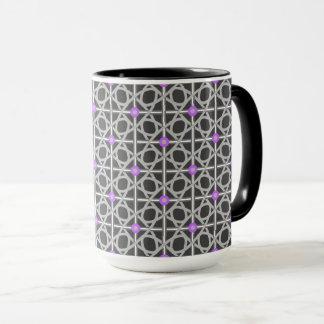 Black & Gray & Purple Yay! Mug