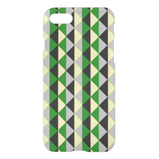 Black Green And Grey Diamonds iPhone 7 Case
