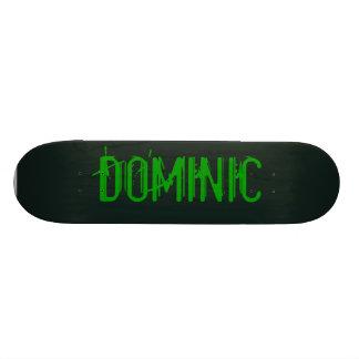 Black & Green Monster Skateboard