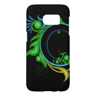 Black & Green Samsung Galaxy S7 Case