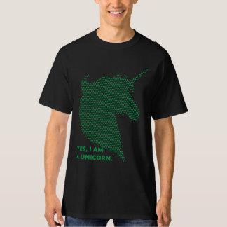 Black/Green Unicorn Tee