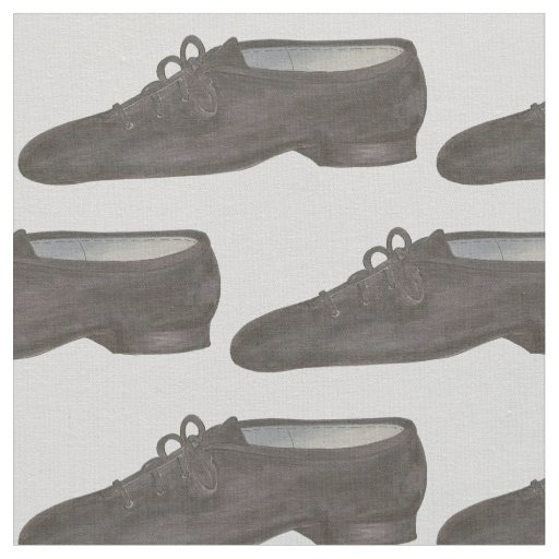 Black Grey Jazz Dance Shoe Shoes Dancer Fabric