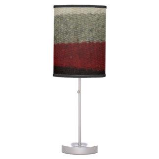 Black Grey, Red Lamp Shade