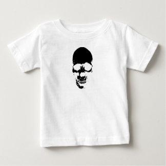 Black Grim Reaper Skull Baby T-Shirt