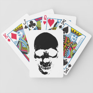 Black Grim Reaper Skull Bicycle Playing Cards