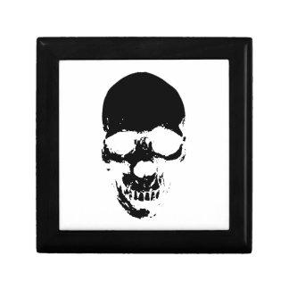 Black Grim Reaper Skull Gift Box